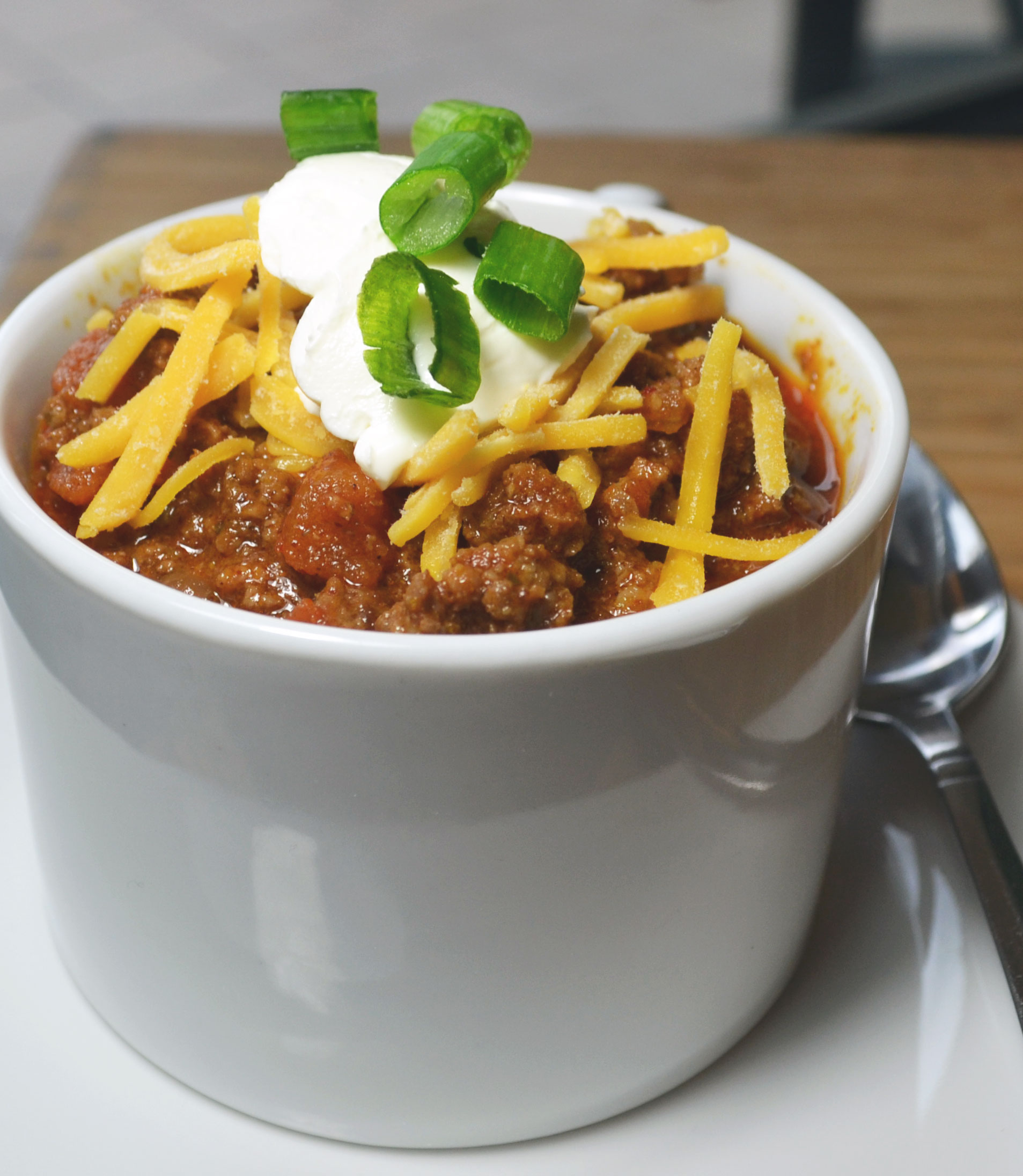 The Story of Texas Cafe on the Bullock Museum's second floor serves Texas favorites, including favorites such as chili and baked potatoes.