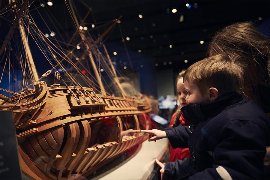 La Belle, the ship that changed Texas history, is on view at the Bullock Museum. In addition to the ship, visitors can see rare artifacts, video footage of the excavation and conservation, and a 1:12 scale ship model.