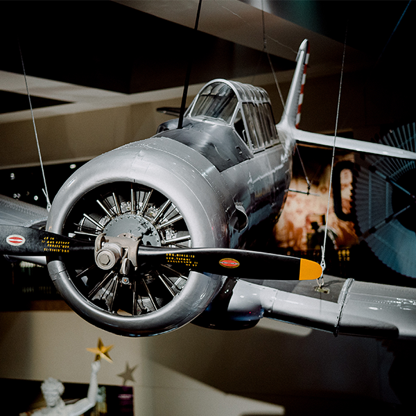 "A sprawling factory quickly built for WWII aircraft training in Dallas produced the AT-6 airplane, known as the ""Texan"" -- a plane so durable that many later saw service in the Korean War."