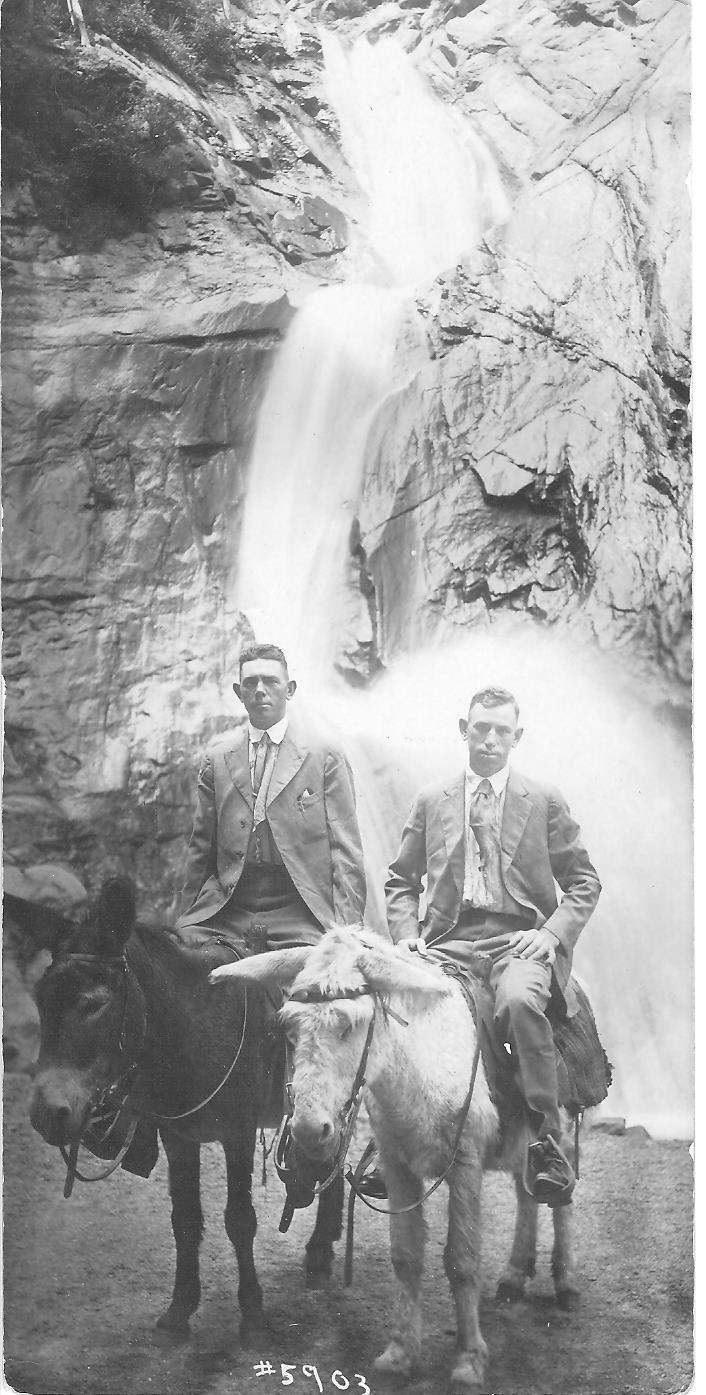 Beacher and Hosea Luscombe in Colorado