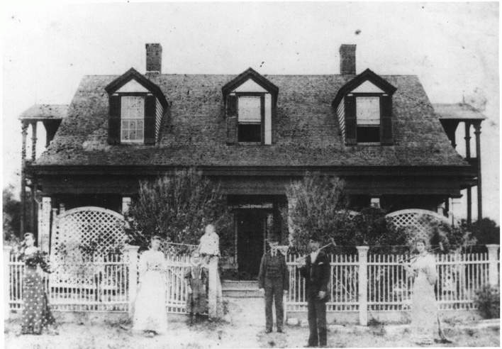 Clara Driscoll's home in St. Mary's of Aransas
