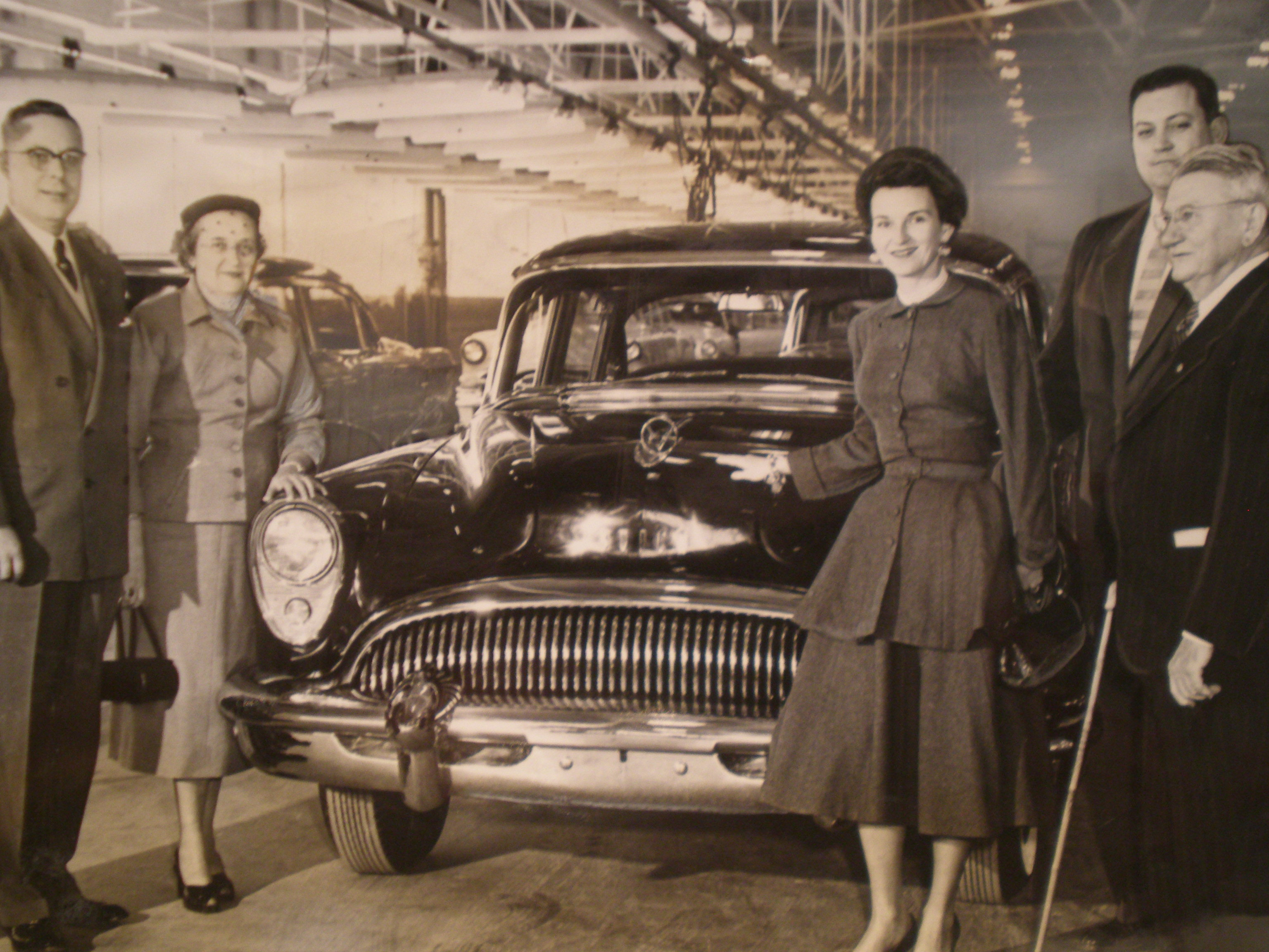 The first car from Arlington's GM plant.
