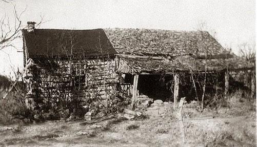 Heinrich Schneider S Log Cabin In Castell Llano County
