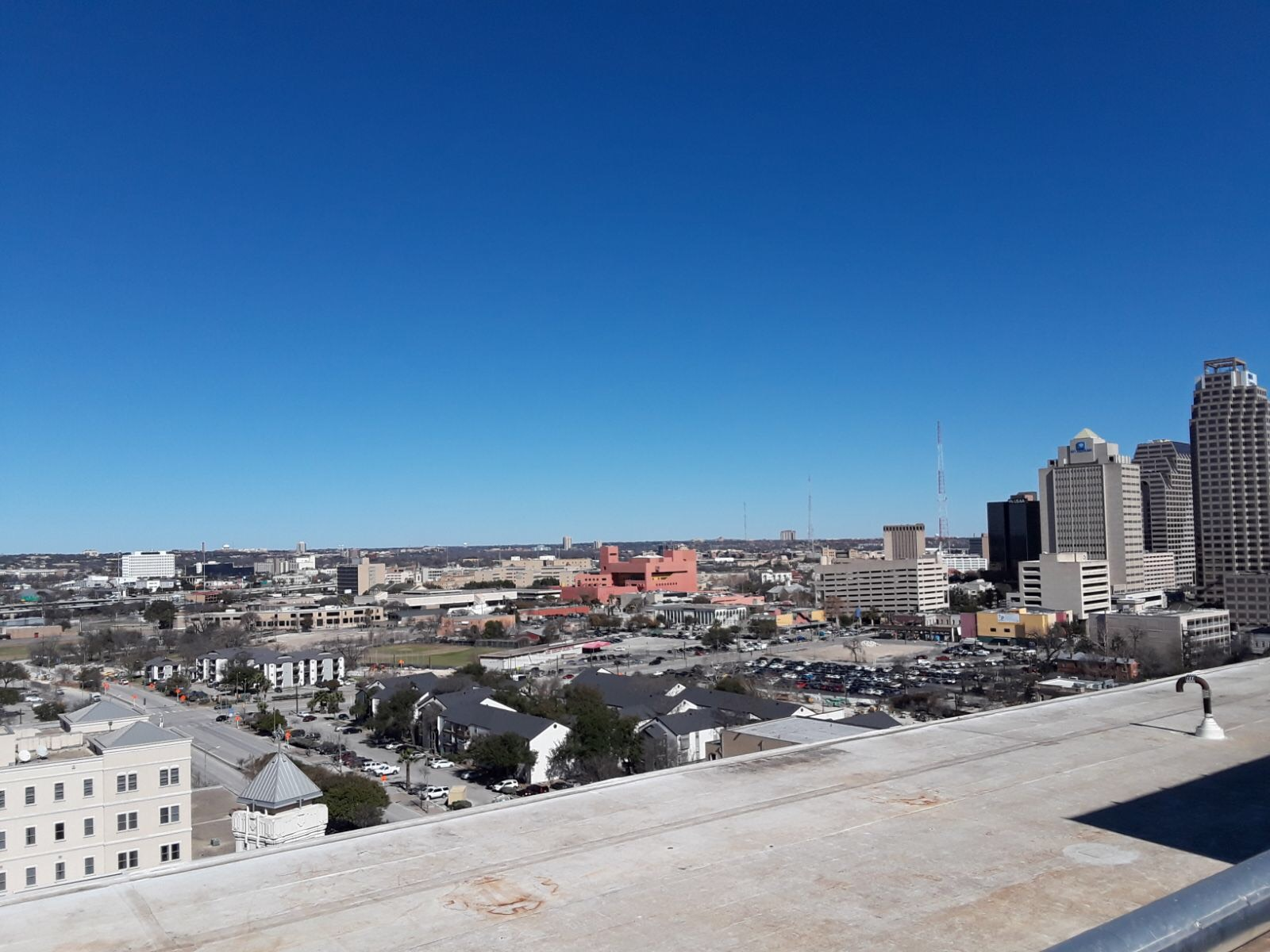 View of the San Antonio skyline. Photo courtesy Alejandra Hernandez.