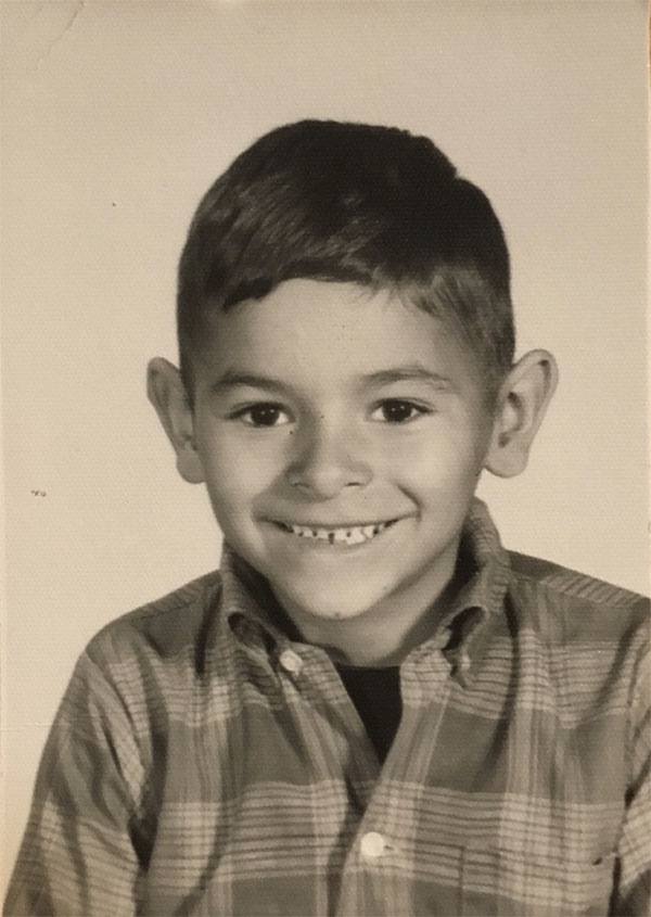 Pierre Gutierrez's father in the first grade.